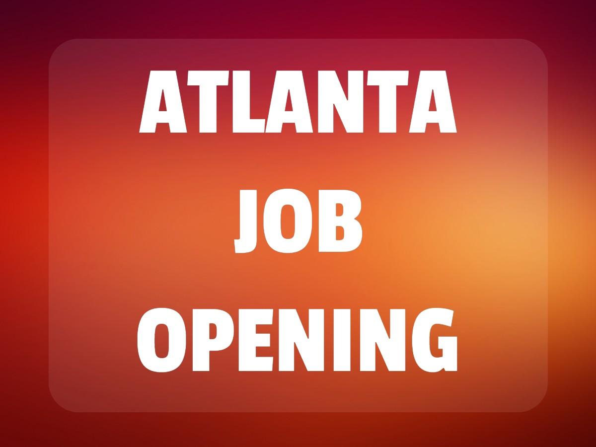 Atlanta Job Opening