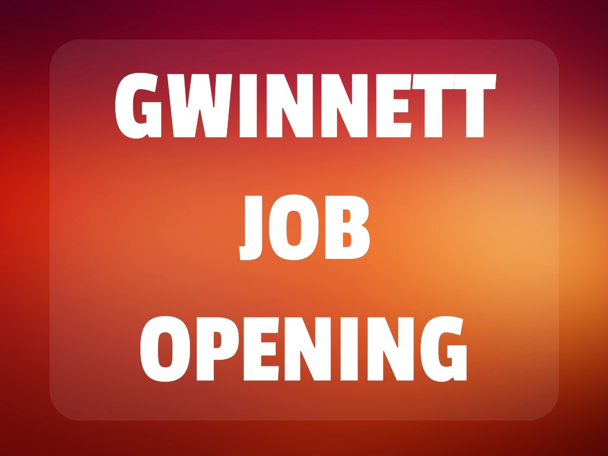 Gwinnett Job Opening