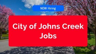 City of Johns Creek Jobs