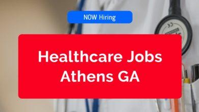 Healthcare Jobs Athens GA