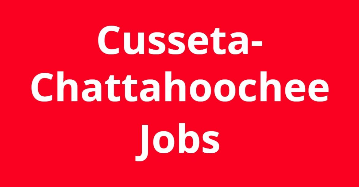 Jobs in Cusseta-Chattahoochee GA