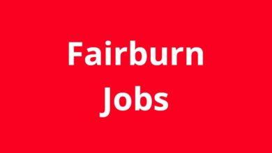 Jobs in Fairburn GA