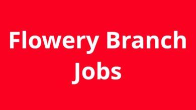 Jobs in Flowery Branch GA