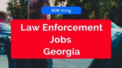 Law Enforcement Jobs in Georgia
