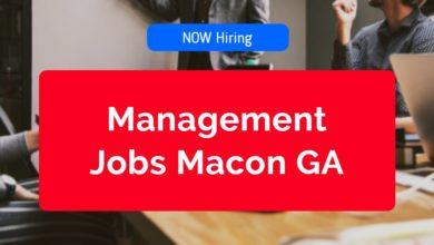 Management Jobs in Macon GA