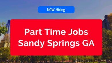 Part Time Jobs in Sandy Springs