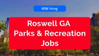 Roswell GA Parks & Recreation Jobs