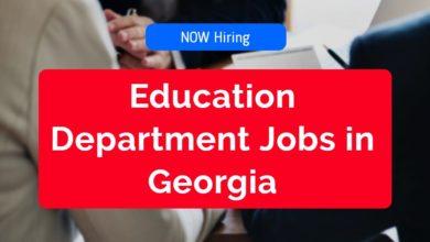 Education Department Jobs in Georgia
