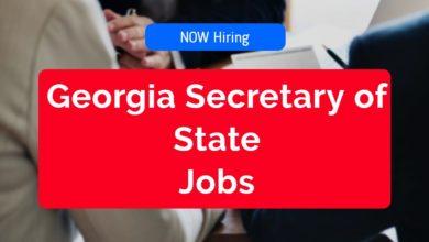 Georgia Secretary of State Jobs