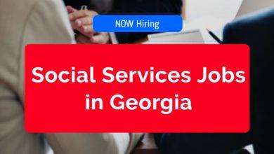 Social Services Jobs in Georgia